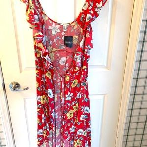 NWT Forever 21 wrap around dress